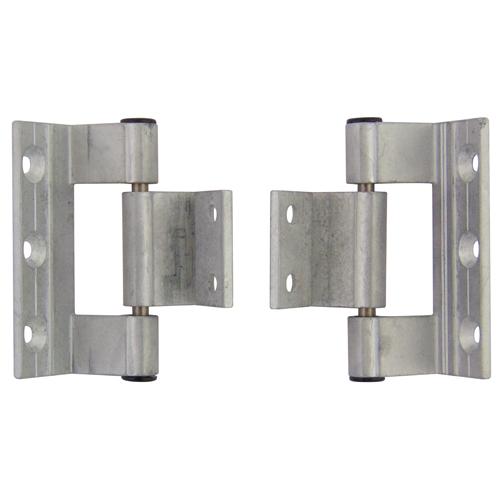 Rebated Aluminium Door Hinge   Hinges Designed For Aluminium Doors    Finish: White