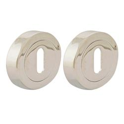 TSS Round UK Cylinder Escutcheon