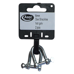 ASEC Steel Dee Shackles