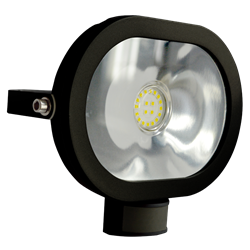 ASEC Ultra Slim Oval LED PIR Floodlight