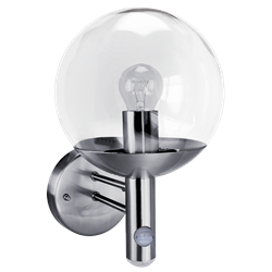 ASEC Globe Light with PIR & Photocell