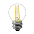 ASEC Daylight Clear Filament Lamp E27 3.5W to Suit Globe & Column Lights