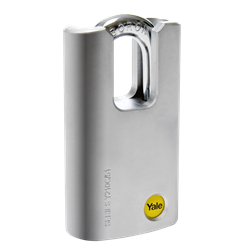 YALE 210 Closed Shackle Steel Padlock