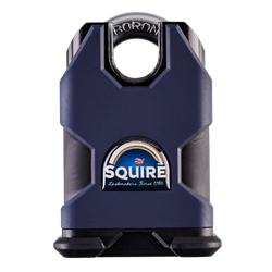 SQUIRE SS50CP5 Stronghold Steel 5 Pin Closed Shackle Padlock