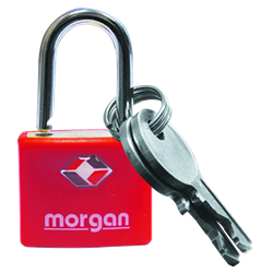 Morgan TSA200 Luggage Padlock