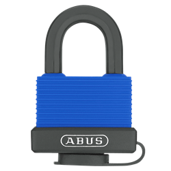 ABUS 70IB Series Aqua Safe Marine Brass Open Stainless Steel Shackle Padlock