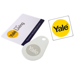 YALE Smart Lock Accessory Key Tag/Card Multi Pack