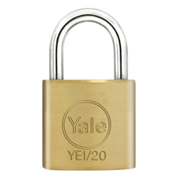 YALE Essential Standard Open Shackle Padlock