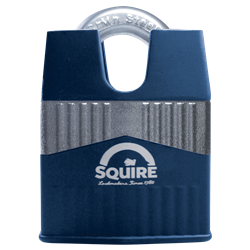 SQUIRE Warrior Closed Shackle Padlock Key Locking