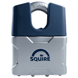 SQUIRE Vulcan Closed Boron Shackle Padlock Key Locking