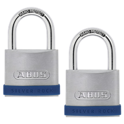 ABUS Silver Rock 5 Open Shackle Padlock