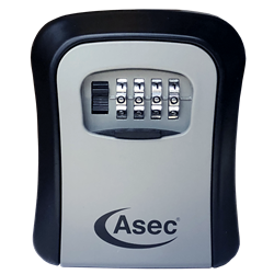 ASEC 4 Wheel Combination Key Safe