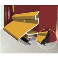 Exitex ERD Rain Deflector - External deflector strip suitable for UPVC & Timber doors