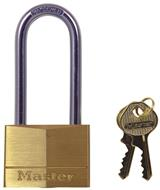 Master Long Shackle Brass Padlock