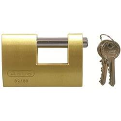 Abus 82 Series Brass Shutter Padlocks