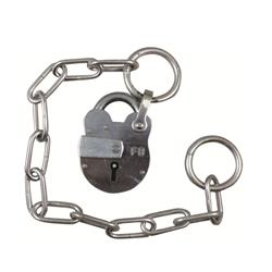 Fire Brigade FB1 Padlock With Chain