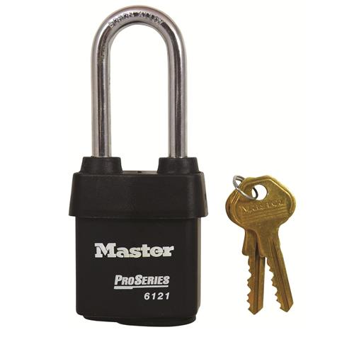 Master 612 Pro Series Weather Tough Long Shackle Padlocks