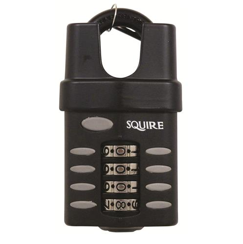 Squire CP50CS Recodeable Combination Padlocks Close Shackle