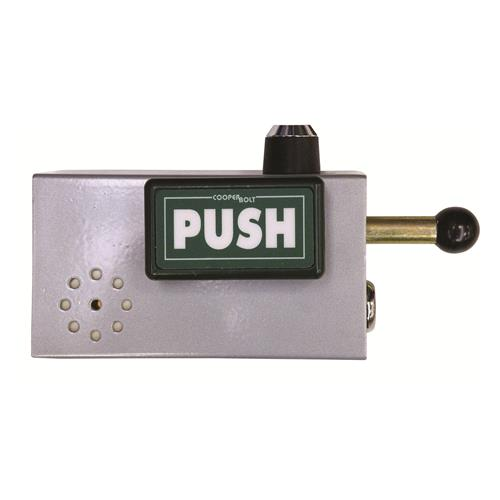 Cooper Bolt 103 Push Model With Alarm and Silence Key switch