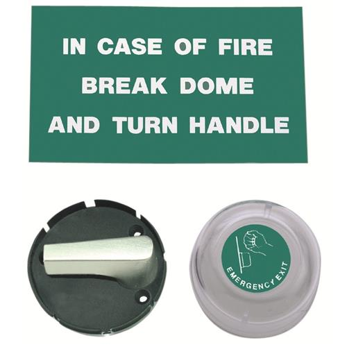 Union 8070 Escape Emergency Exit Dome & Turn