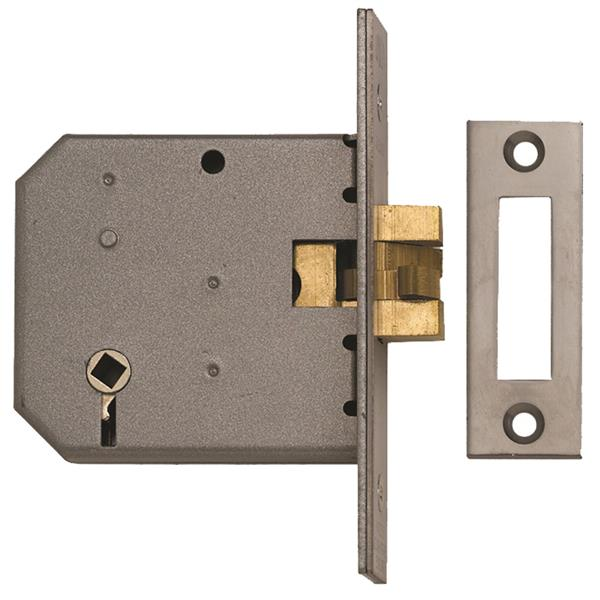 Union 2426 Sliding Bathroom Lock - 77mm (3""