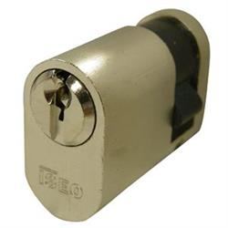 Iseo F5 Open Profile Oval Single Cylinders