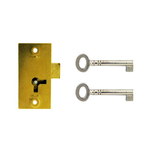 D12 1 LEVER STRAIGHT CUPBOARD LOCK