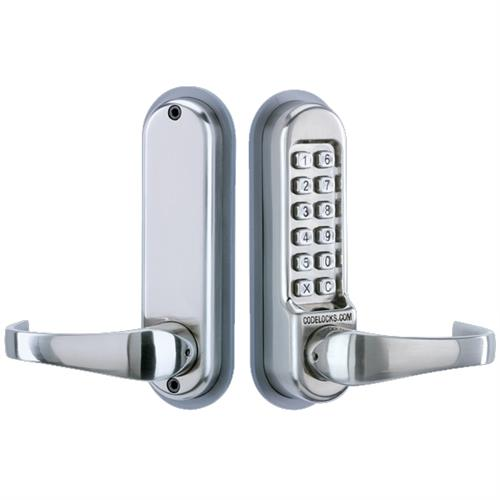 Codelocks CL515 Tubular Mortice Latch Lock with Code Free