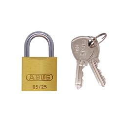 Abus 65 Series 25mm Brass Padlock
