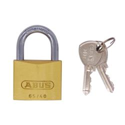 Abus 65 Series 40mm Brass Padlock