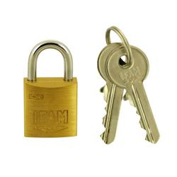 Ifam E Series 20mm Brass Padlock