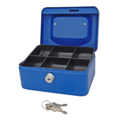 Sterling cash boxes