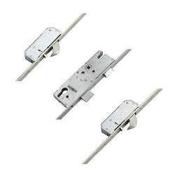 Winkhaus AV2 + Autolocking - Latch, Deadbolt and 2 Hooks - Flat 20mm Faceplate - Battery Operated