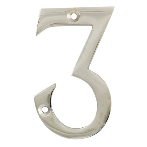 Face Fix Door Numerals  sc 1 st  Lock Shop Direct & Face Fix Door Numerals - No.3
